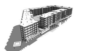 Apartment complex on Rodeløkka, Oslo