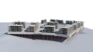 Apartments on Fornebu - structural