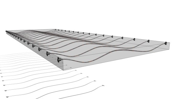 Post Tension Structures in Revit continued: 5-point bars and