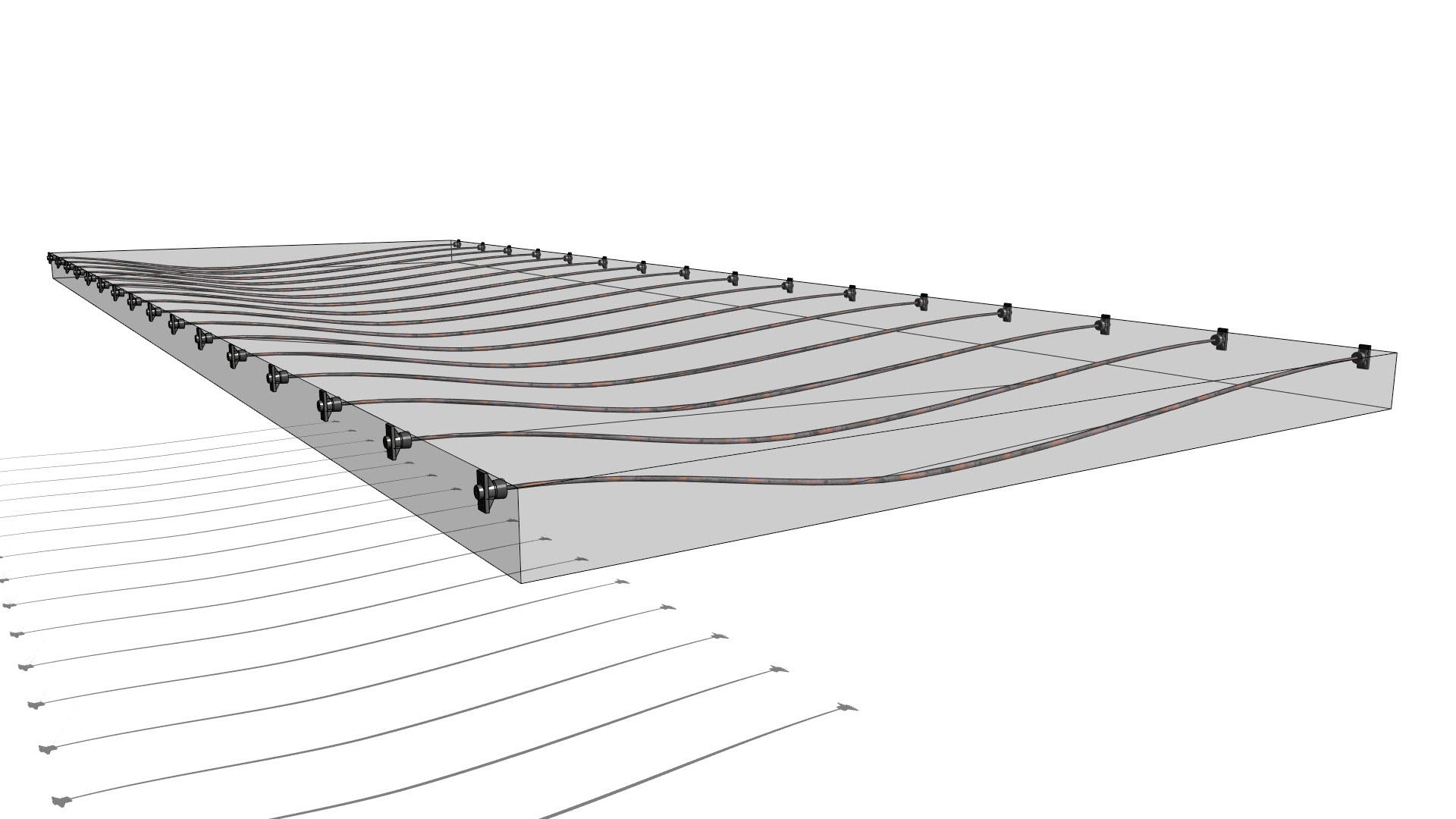 Post Tension Structures In Revit H 229 Vard Vasshaug
