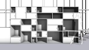 Shelves camera