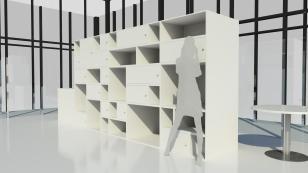 Shelves render