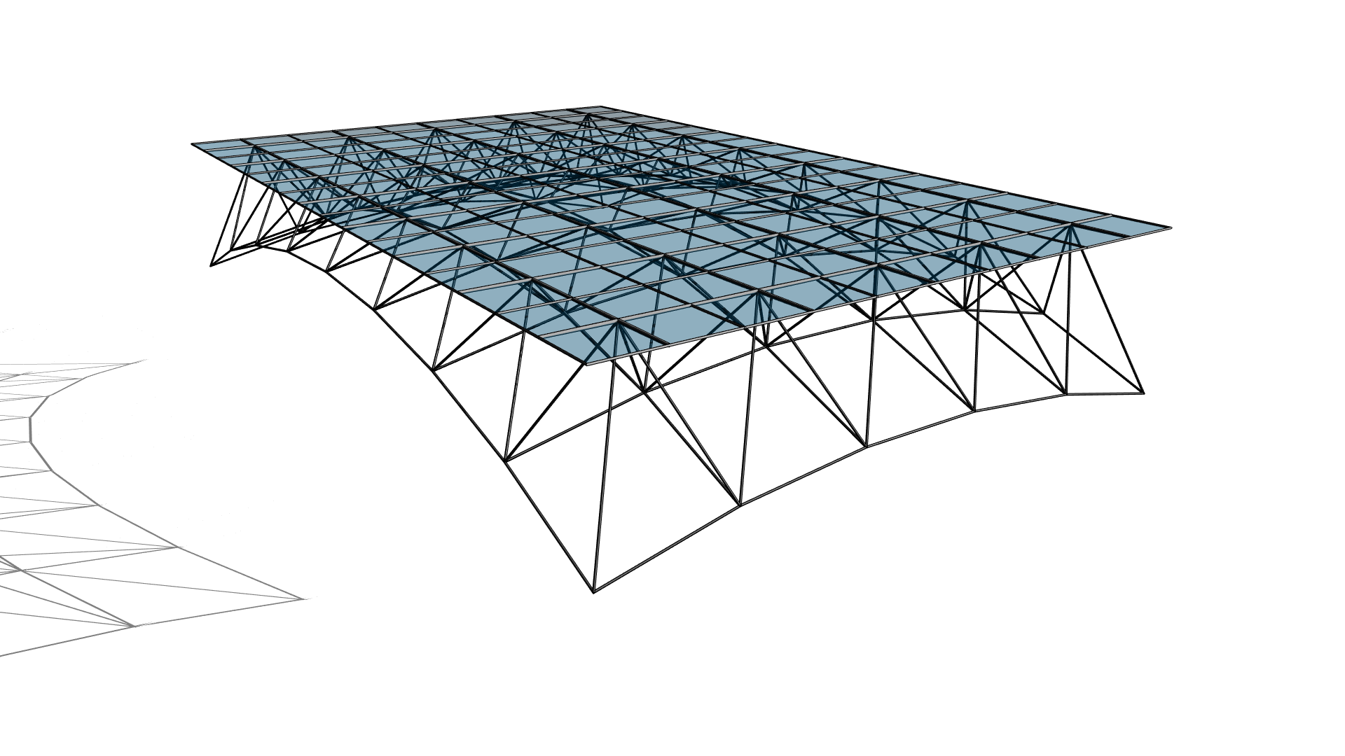 Space Frame with Spherical Layout in Revit using Divided Surface ...