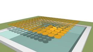 Tilted pattern horizontal pool 1