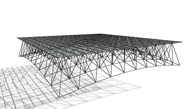 Pythagoras Sphere Frame Roof