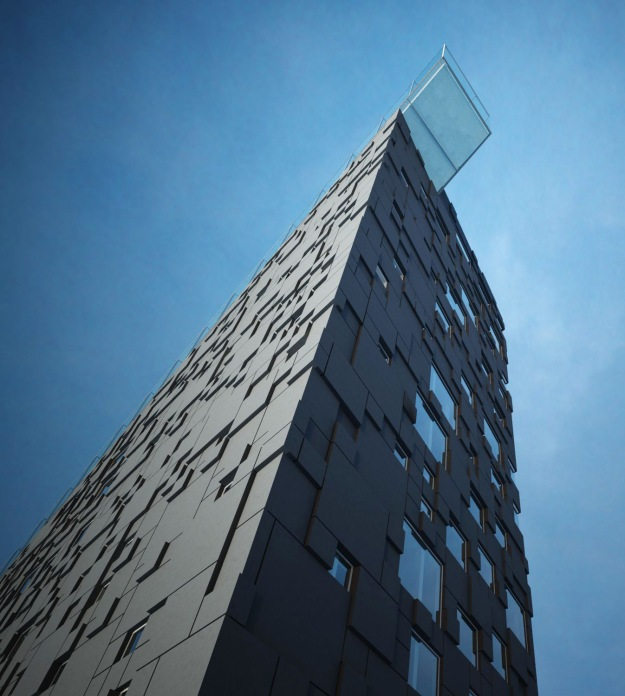 Arne and his team designed one of the coolest buildings in Norway. Barcode, DnB Headquarters, Oslo. Dark Architects.