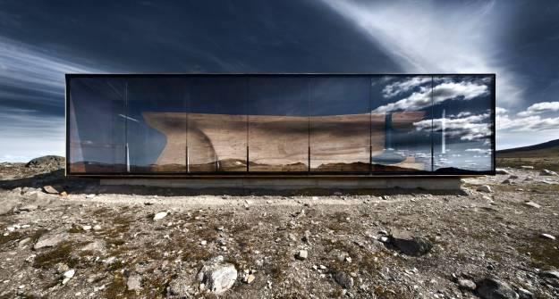 Tverrfjellhytta, Norwegian Wild Reindeer Pavilion