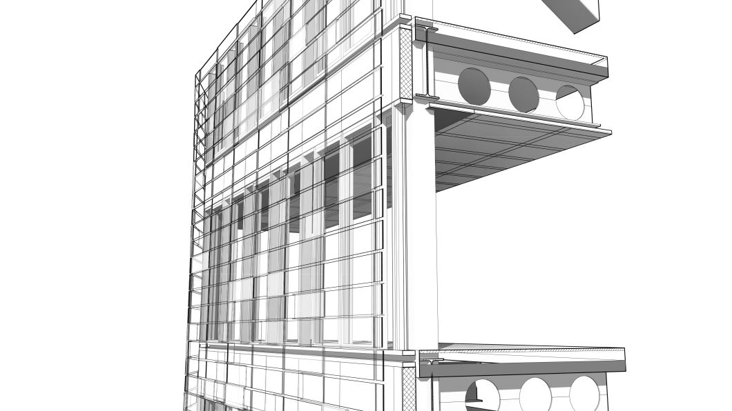 how to draw detail lines on sections in revit